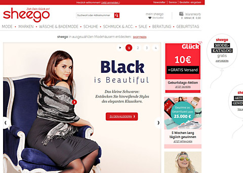 promo code 626d0 c7453 Sheego.de Online Mode Katalog - Online Shop
